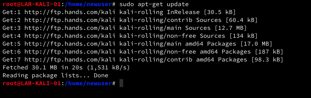 Kali Linux – Fix E: Unable to locate package Error and install XRDP