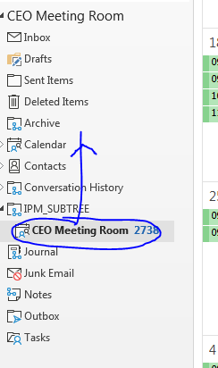 Office 365 Export Public Folders and Import into a Resource